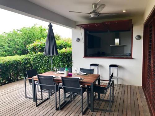 Boca Gentil Porch parasol plafondventilator appartement Sunrise 9